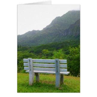 熱帯ベンチ カード