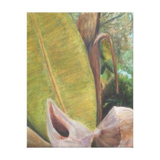 熱帯ポーチの眺めのキャンバスのプリント キャンバスプリント