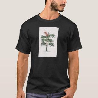 熱帯ヤシの木のコレクション-引くV Tシャツ