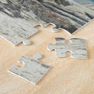 熱帯ヤシの木のビーチのパズル ジグソーパズル