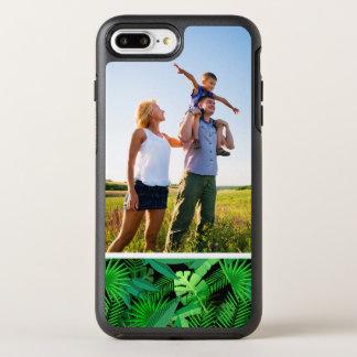 熱帯ヤシの木の写真の葉 オッターボックスシンメトリーiPhone 8 PLUS/7 PLUSケース