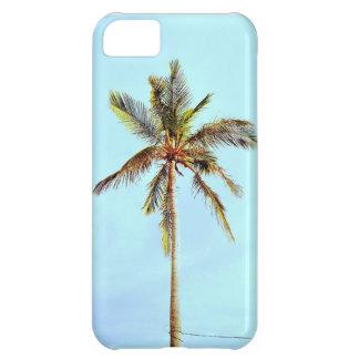熱帯ヤシの木のiphone 5の場合 iPhone5Cケース