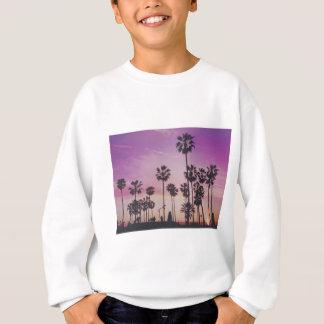 熱帯ヤシの木マイアミロサンゼルスベニス スウェットシャツ