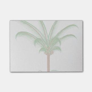 熱帯ヤシの木 ポストイット