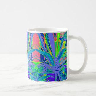 熱帯リュウゼツランの近代美術のギフト コーヒーマグカップ