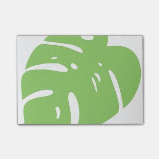 熱帯割れた葉 ポストイット