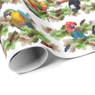 熱帯包装紙 ラッピングペーパー