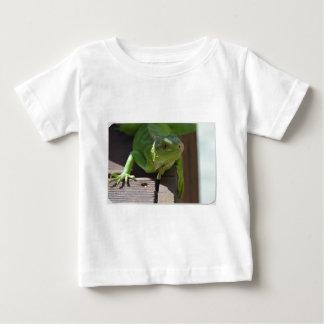 熱帯地方のイグアナ ベビーTシャツ
