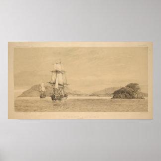 熱帯地方の航海 ポスター