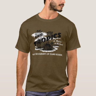 熱帯地方 Tシャツ