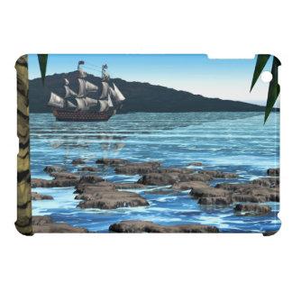 熱帯場面 iPad MINI カバー