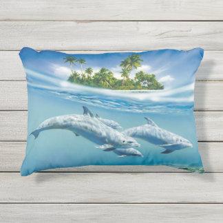 熱帯島のファンタジーの屋外のアクセントの枕 アウトドアクッション