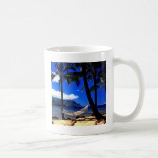 熱帯島の午後の昼寝カウアイ島ハワイ コーヒーマグカップ