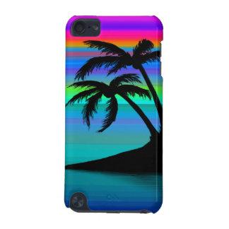 熱帯島の日没 iPod TOUCH 5G ケース
