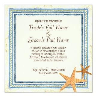 熱帯島の楽園-結婚式招待状 カード