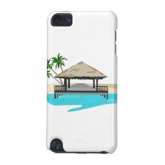 熱帯島の歓迎の波止場 iPod TOUCH 5G ケース