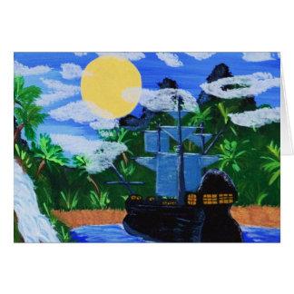 熱帯島の隠れ家 カード