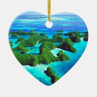 熱帯島共和国パラオ諸島 セラミックオーナメント