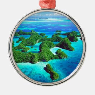 熱帯島共和国パラオ諸島 メタルオーナメント