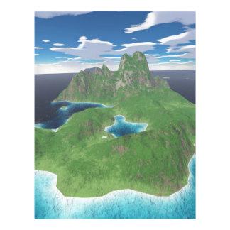 熱帯島 チラシ