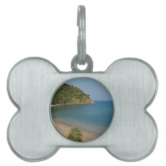 熱帯島 ペットネームタグ