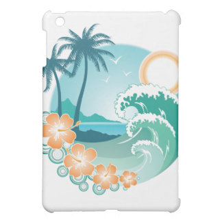 熱帯島 iPad MINIケース
