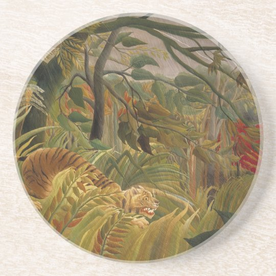 熱帯嵐の中の虎 コースター