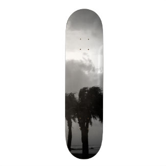 熱帯嵐の空のグレースケール 20CM スケートボードデッキ