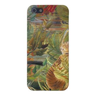 熱帯嵐(驚く!) Rousseauのトラ iPhone 5 カバー