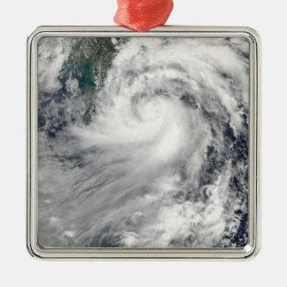 熱帯嵐Chanthu メタルオーナメント