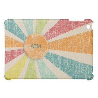 熱帯日が差すことの蜜柑の水のカスタムのモノグラム iPad MINI CASE