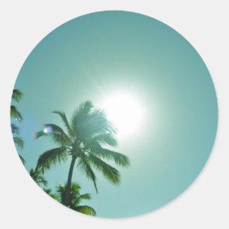 熱帯日曜日 ラウンドシール