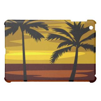 熱帯日没のipadの場合 iPad mini case