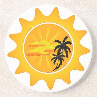 熱帯日没 コースター