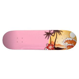 熱帯日没 スケートボード