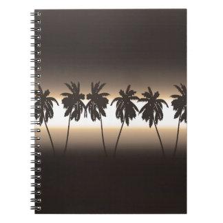 熱帯日没 ノートブック