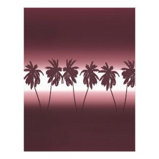 熱帯日没 レターヘッド