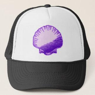 熱帯月光の紫色の貝 キャップ