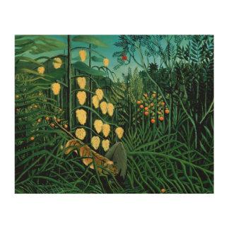 熱帯森林 ウッドウォールアート