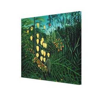 熱帯森林 キャンバスプリント