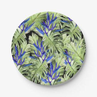 熱帯植物2 ペーパープレート