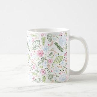 熱帯植物 コーヒーマグカップ