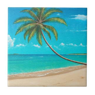 熱帯楽園のタイル タイル