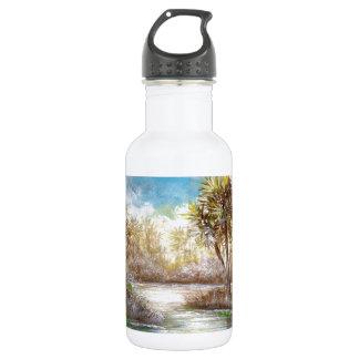 熱帯楽園のデザイン ウォーターボトル