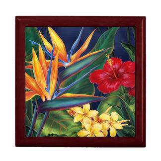 熱帯楽園のハワイの花のギフト用の箱 ギフトボックス