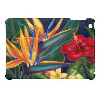 熱帯楽園のハワイアンのiPad Miniケース iPad Miniケース