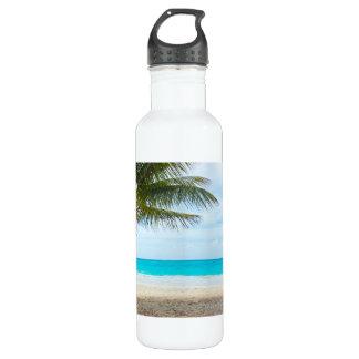 熱帯楽園のビーチ ウォーターボトル