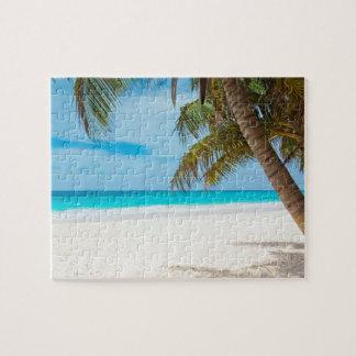 熱帯楽園のビーチ ジグソーパズル