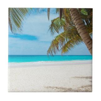 熱帯楽園のビーチ タイル