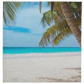 熱帯楽園のビーチ ナプキンクロス